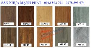 Sàn nhựa giả gỗ tự dán có sẵn keo giá cực rẻ