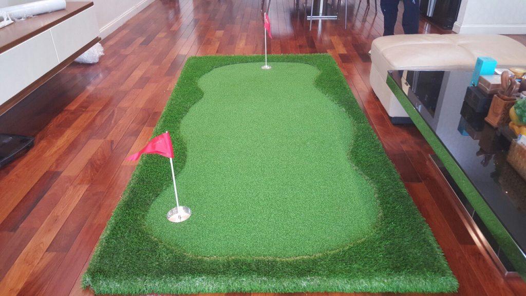 Thảm cỏ nhân tạo sân tập golf