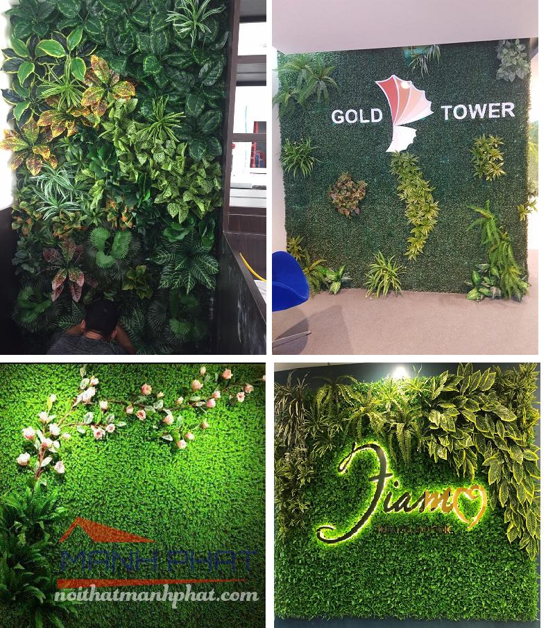 cỏ nhân tạo trang trí tường, tường cỏ nhân tạo